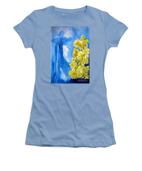 Women's T-Shirt (Junior Cut) featuring the painting Beautiful Dreamer by Sandy McIntire