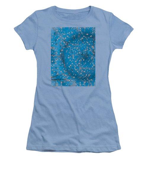 Bell-shaped Flowers Women's T-Shirt (Junior Cut) by Moustafa Al Hatter