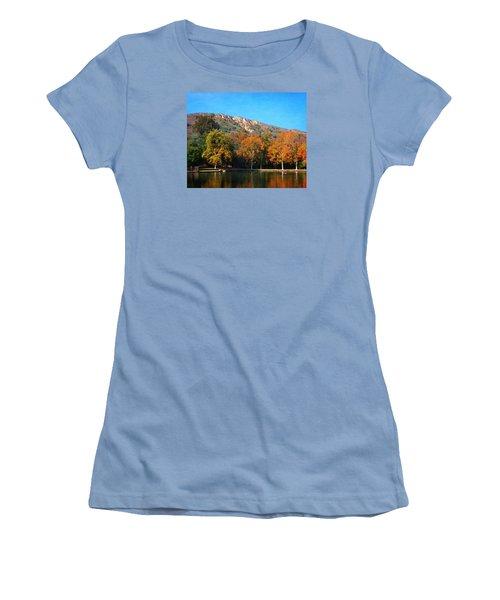 Below Puma Ridge Women's T-Shirt (Junior Cut) by Timothy Bulone
