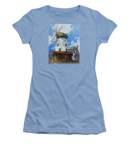 Bevo Mill - St. Louis Women's T-Shirt (Junior Cut) by Irek Szelag