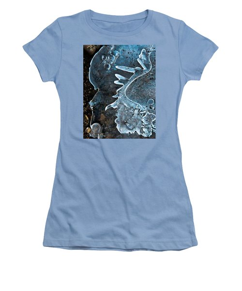 Women's T-Shirt (Junior Cut) featuring the photograph Beyond by Tom Cameron