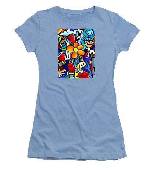 Biomechanical Love Women's T-Shirt (Athletic Fit)