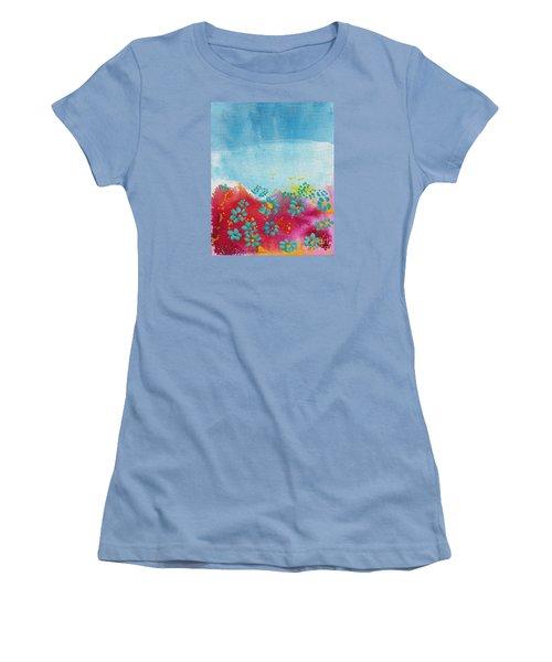 Blooms Women's T-Shirt (Athletic Fit)