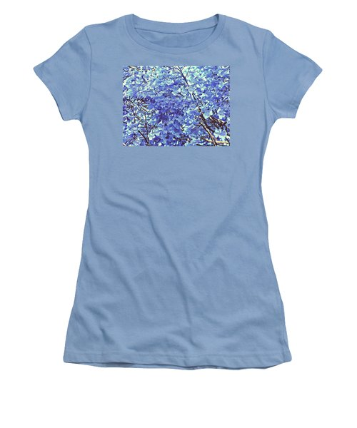 Blossom Bliss Women's T-Shirt (Athletic Fit)