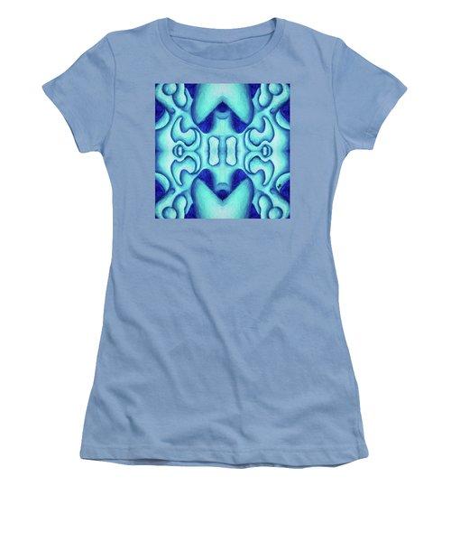 Blue Dream Women's T-Shirt (Junior Cut) by Versel Reid