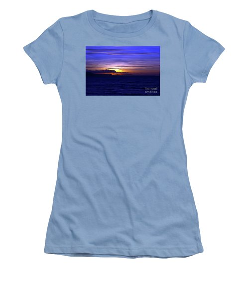 Blue Heaven  Women's T-Shirt (Junior Cut) by Stephen Melia