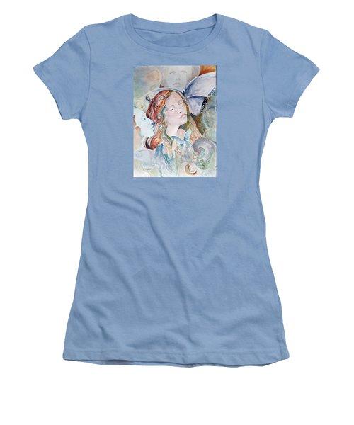 Blue Morpho Women's T-Shirt (Athletic Fit)
