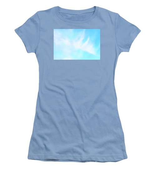Blue Sky Women's T-Shirt (Junior Cut) by Anton Kalinichev