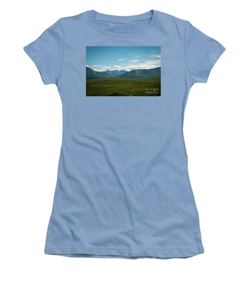 Blue Sky Mountians Women's T-Shirt (Athletic Fit)