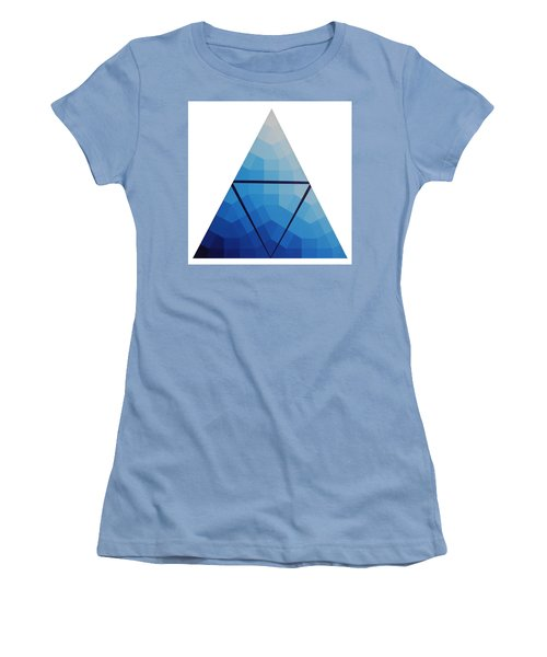 Blue Triangle - Wave Of Blue - Image #10 Women's T-Shirt (Athletic Fit)