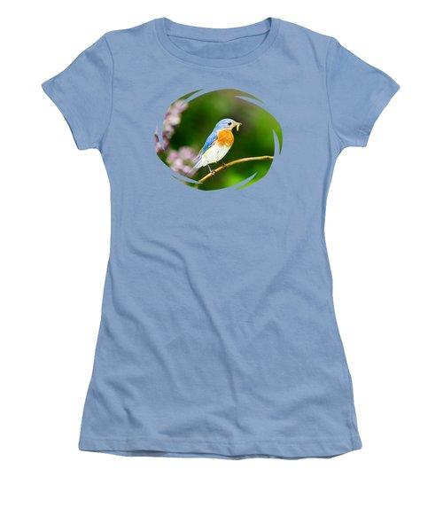 Bluebird Women's T-Shirt (Junior Cut)