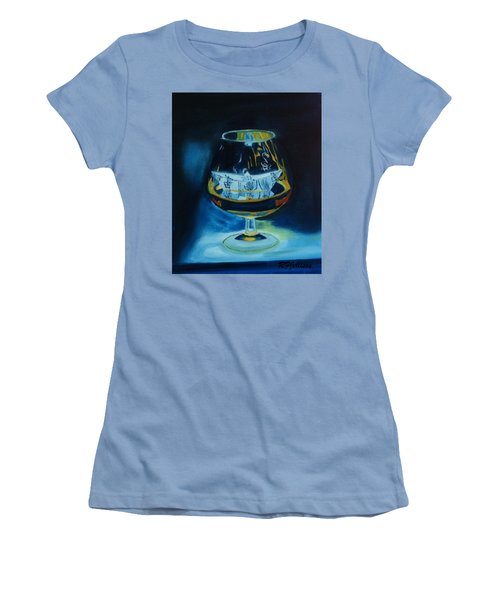 Boat In A Glass Women's T-Shirt (Junior Cut) by Rod Jellison