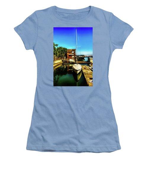 Boat Landing P O C Women's T-Shirt (Junior Cut) by Joseph Hollingsworth