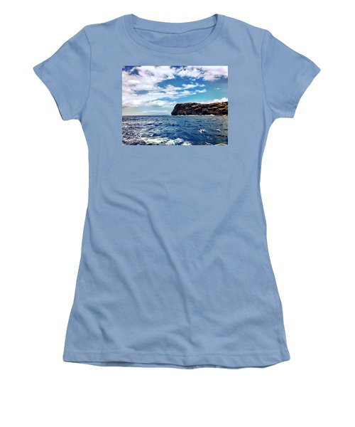 Women's T-Shirt (Junior Cut) featuring the photograph Boat Life by Michael Albright