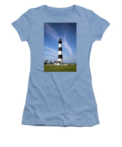 Women's T-Shirt (Athletic Fit) featuring the photograph Bodie Light by Alan Raasch