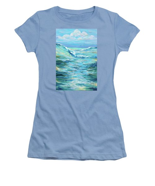 Bodysurfing Afternoon Women's T-Shirt (Athletic Fit)