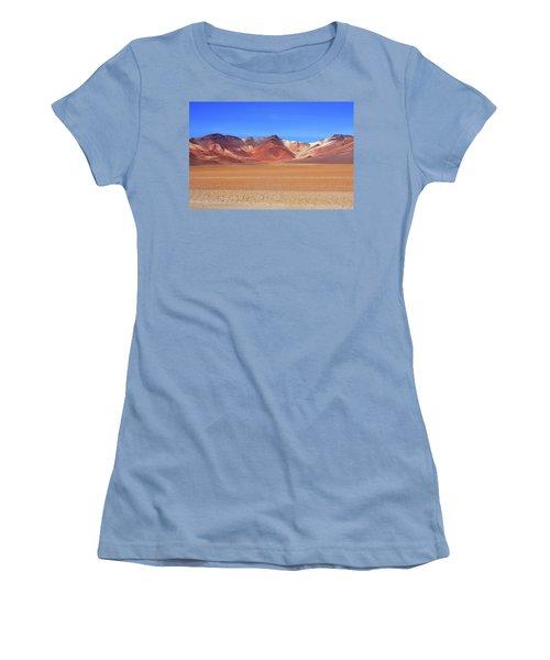 Bolivian Altiplano  Women's T-Shirt (Junior Cut) by Aidan Moran