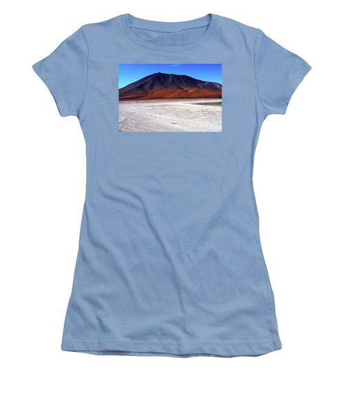 Bolivian Altiplano, South America Women's T-Shirt (Junior Cut) by Aidan Moran