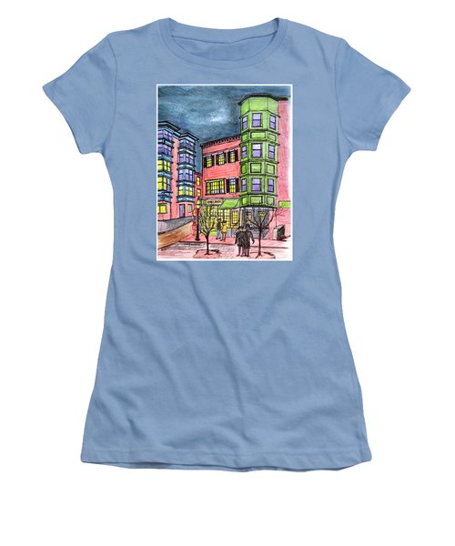 Boston Northend Women's T-Shirt (Athletic Fit)