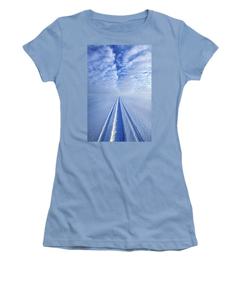 Women's T-Shirt (Junior Cut) featuring the photograph Boundless Infinitude by Phil Koch