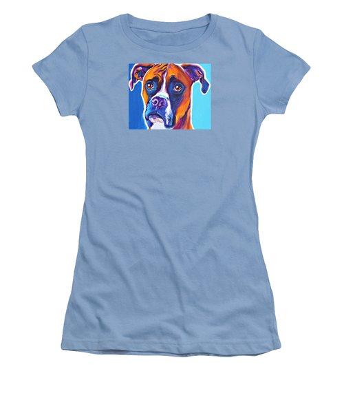 Boxer - Rex Women's T-Shirt (Athletic Fit)