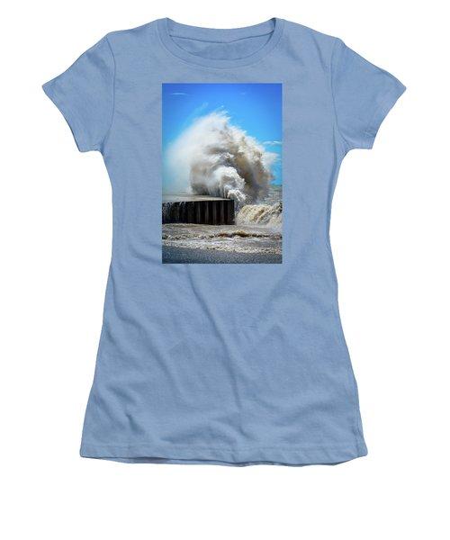 Breaking Power Women's T-Shirt (Athletic Fit)