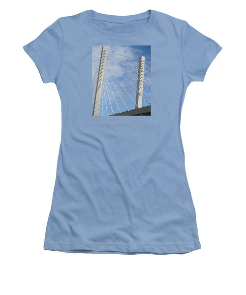 Bridge Women's T-Shirt (Junior Cut) by Martin Cline
