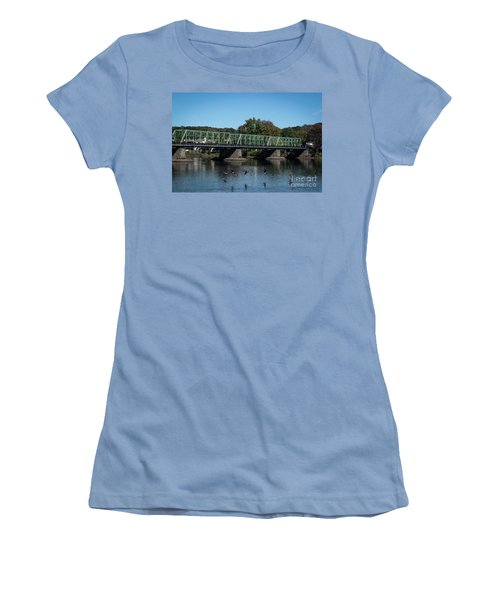 Bridge To Lambertville 2 Women's T-Shirt (Athletic Fit)