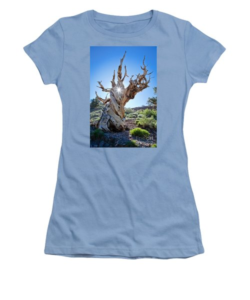 Bristlecone And Sun Women's T-Shirt (Athletic Fit)