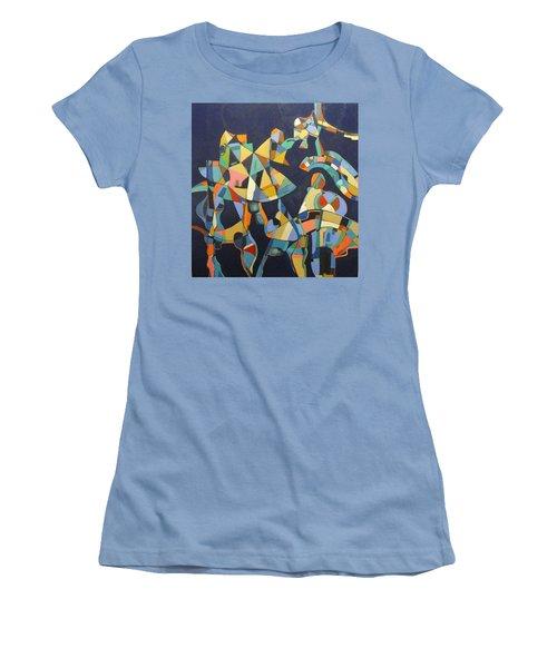 Broken Promises Last Forever Women's T-Shirt (Athletic Fit)