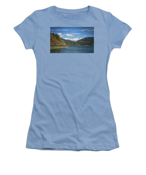 Browns Bay Women's T-Shirt (Junior Cut) by Randy Hall