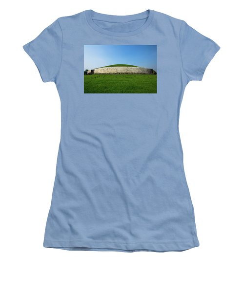 Burial Mound Women's T-Shirt (Athletic Fit)