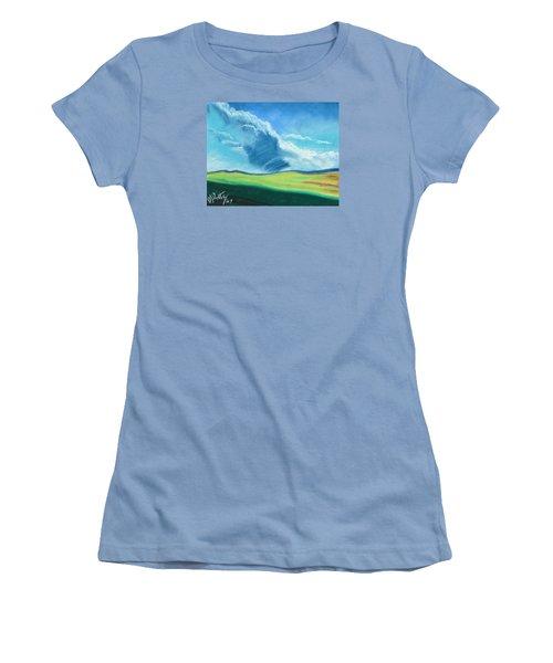 Ca Plains Women's T-Shirt (Athletic Fit)