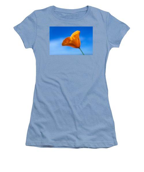 California Poppy Women's T-Shirt (Athletic Fit)