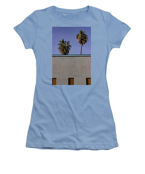 California Rooftop Women's T-Shirt (Athletic Fit)