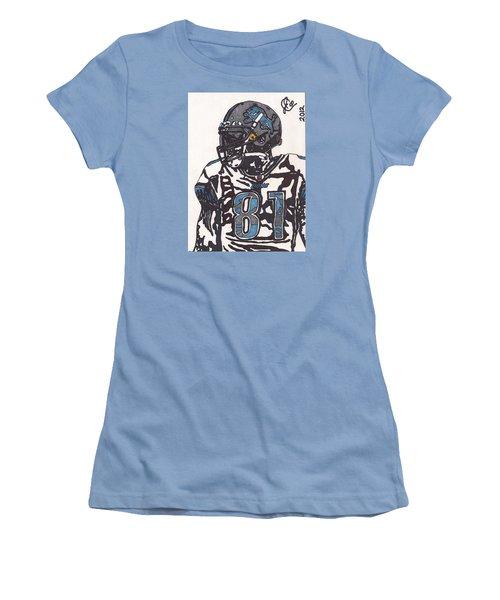 Calvin Johnson Jr 3 Women's T-Shirt (Athletic Fit)