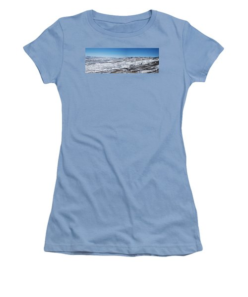 Can You Spot The Volcano Women's T-Shirt (Junior Cut) by Sean Allen