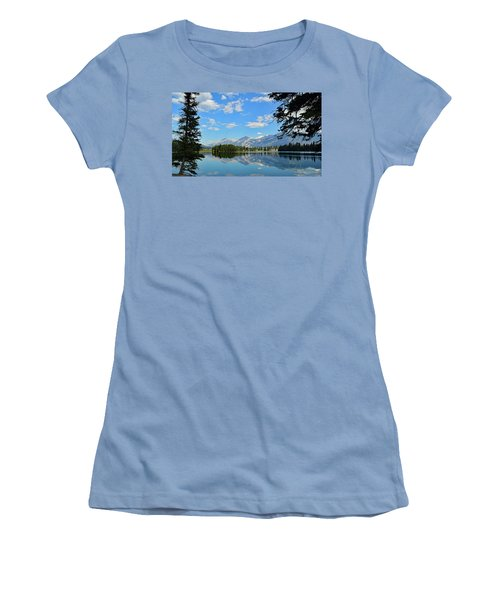 Canadian Rockies No. 4-1 Women's T-Shirt (Athletic Fit)