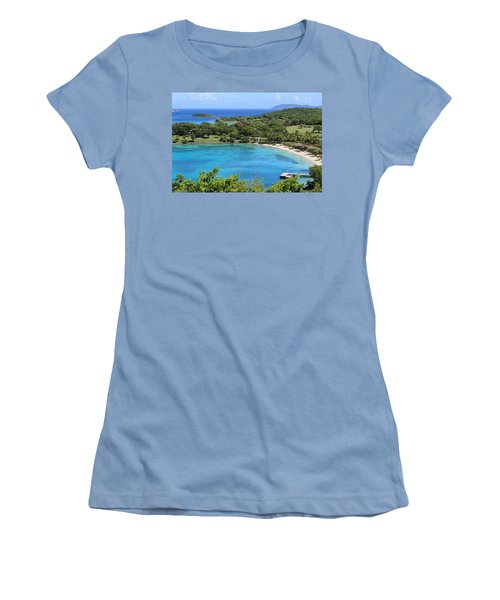 Caneel Bay St. John Women's T-Shirt (Athletic Fit)