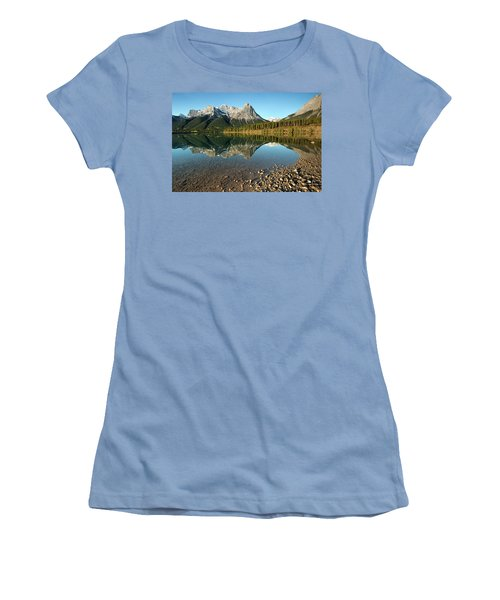 Canmore Reflections Women's T-Shirt (Athletic Fit)