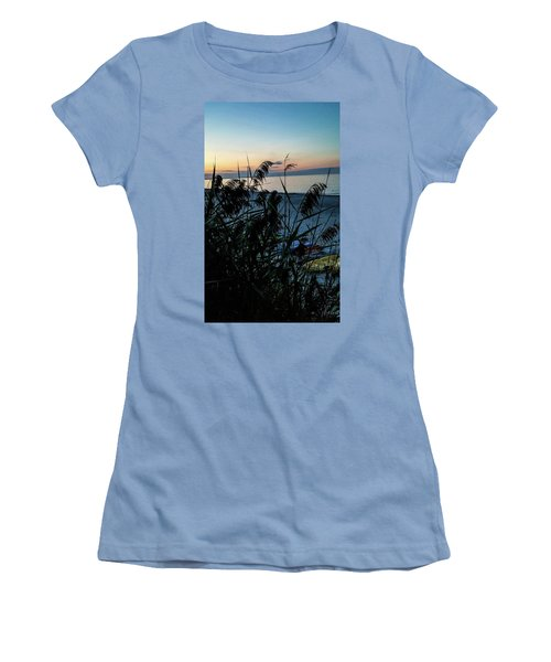 Cape Cod Bay Women's T-Shirt (Junior Cut) by Bruce Carpenter