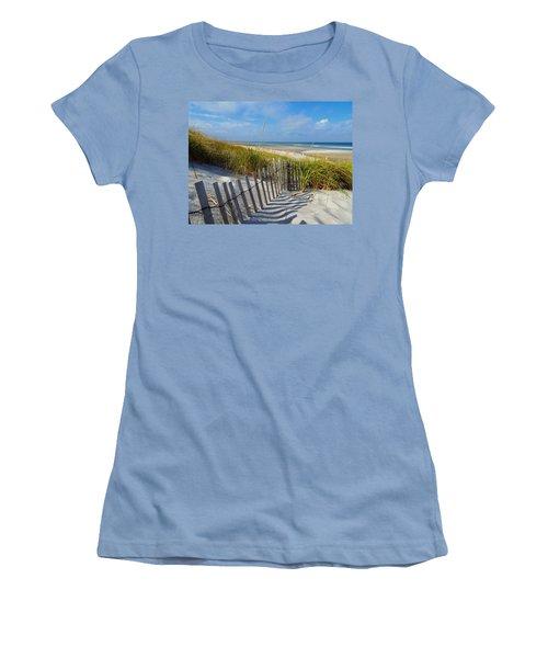 Cape Cod Charm Women's T-Shirt (Junior Cut) by Dianne Cowen