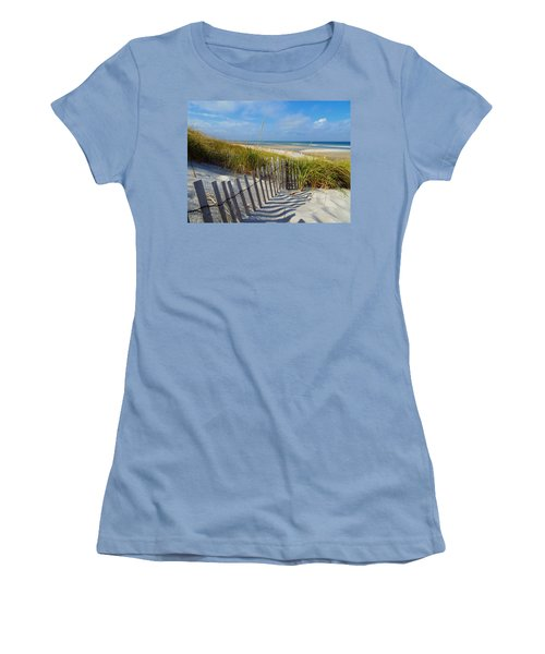 Cape Cod Charm Women's T-Shirt (Athletic Fit)