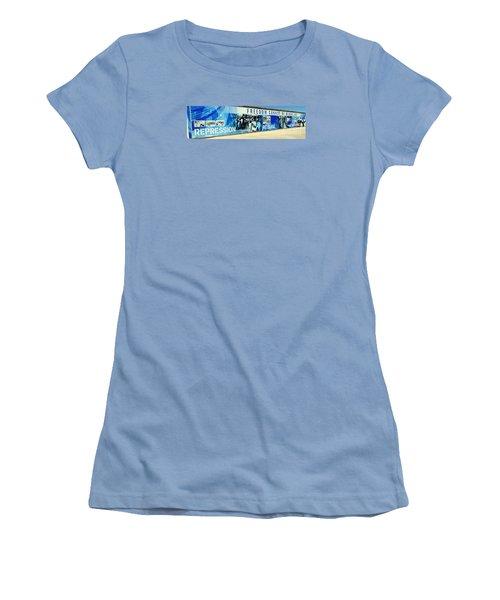 Cape Town Prison Sign Women's T-Shirt (Junior Cut) by John Potts