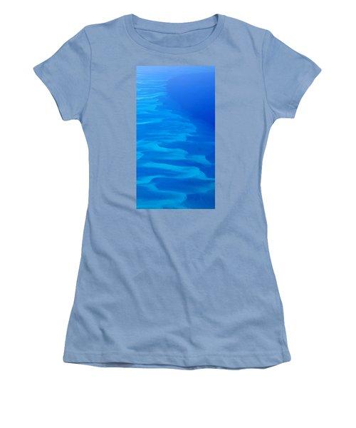 Caribbean Ocean Mosaic  Women's T-Shirt (Athletic Fit)