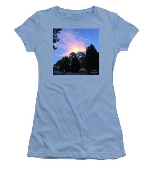 Carolina Summer Sky Women's T-Shirt (Athletic Fit)