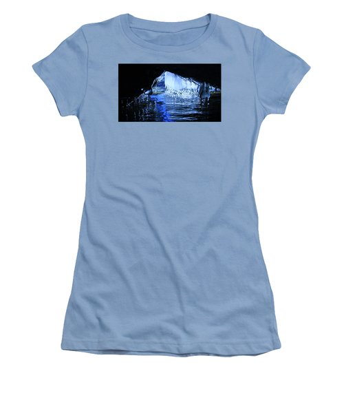 Women's T-Shirt (Athletic Fit) featuring the photograph Cave Dwellers by Sean Sarsfield