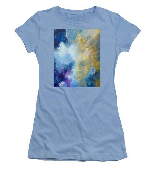 Chakra Women's T-Shirt (Junior Cut) by Dina Dargo