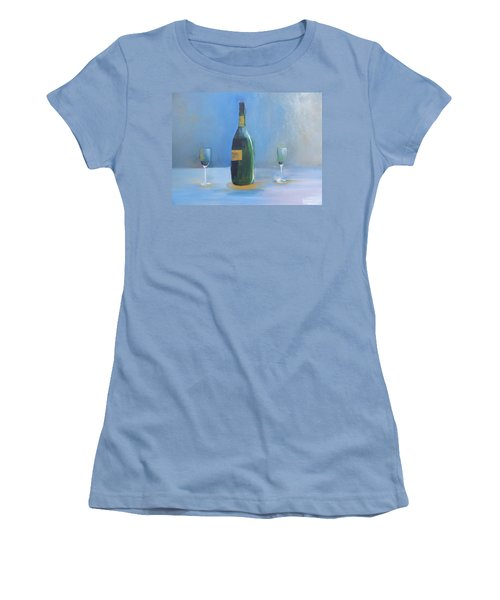Champagne For Two Women's T-Shirt (Athletic Fit)