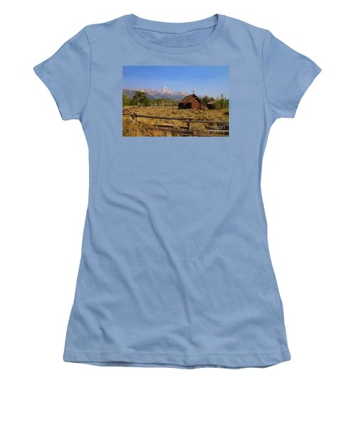 Chapel Of The Transfiguration Women's T-Shirt (Athletic Fit)